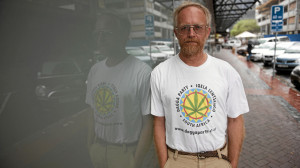 Jeremy Acton from the Dagga Party of South AFrica