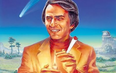 """The illegality of cannabis is outrageous, an impediment to full utilization of a drug which helps produce the serenity and insight, sensitivity and fellowship so desperately needed in this increasingly mad and dangerous world."" - Carl Sagan"