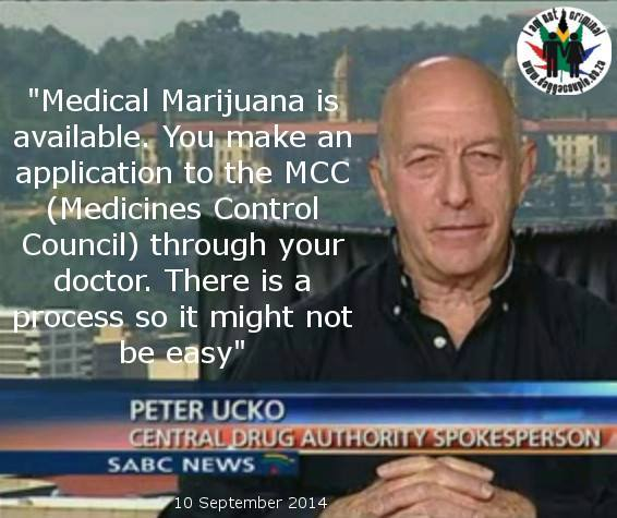 Medical Dagga by CDA Peter Ucko